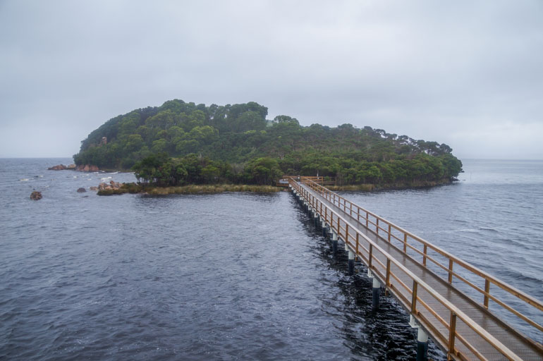 Sarah Island jetty