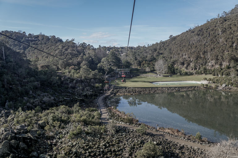 Cataract Gorge chairlift