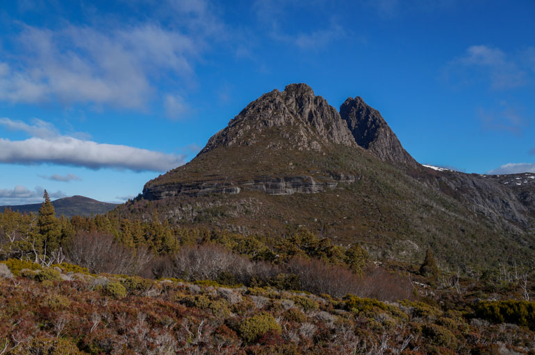 Cradle Mountain from the east