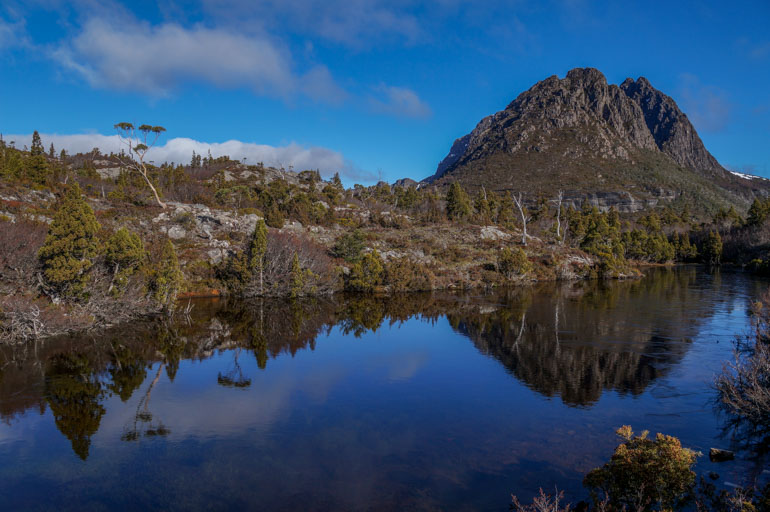Cradle over Twisted Lakes, Cradle Mountain