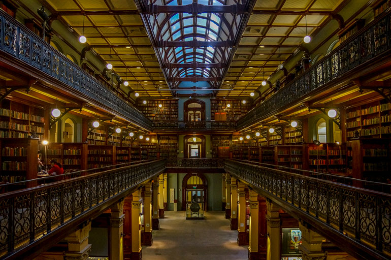 Mortlock Wing, SA Library, Adelaide