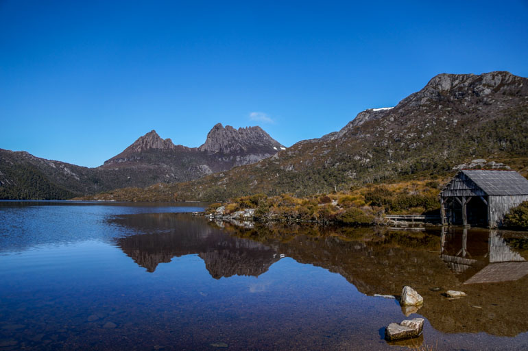 The Boat Shed, Dove Lake, Cradle Mountain