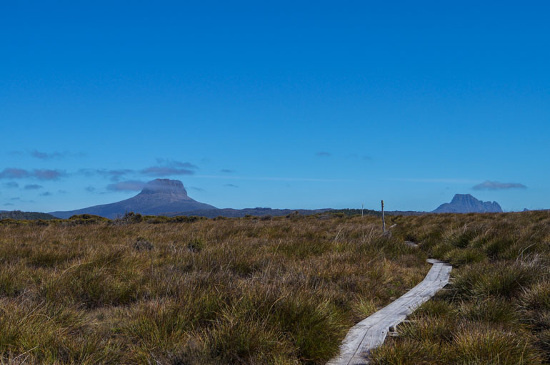 Barn Bluff and Cradle Mountain, Overland Track