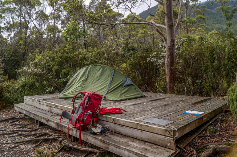 Camp at Kia Ora