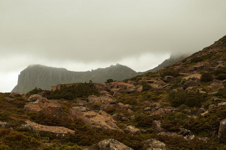 Cloud clear near Ossa - Overland Track