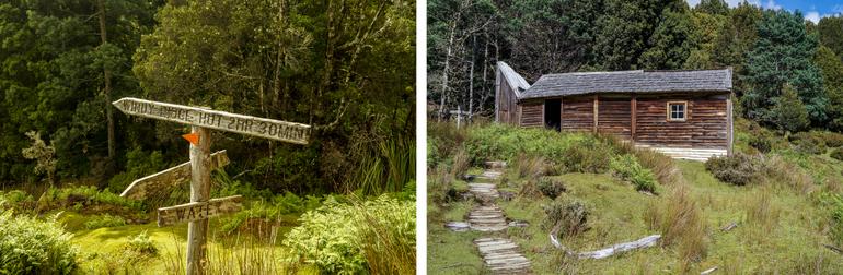 Du Cane Hut  Overland Track
