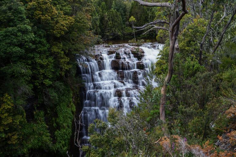 Hartnett Falls -  Overland Track