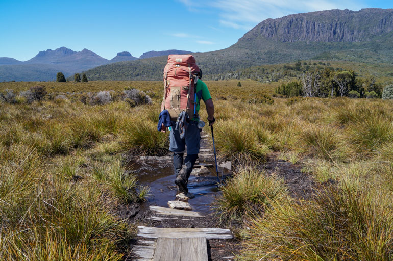 On the Overland Track