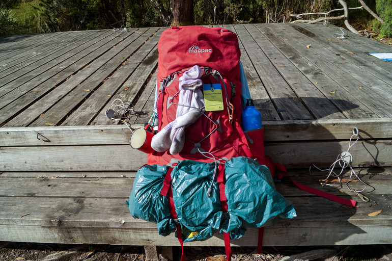 Pack for the Overland Track
