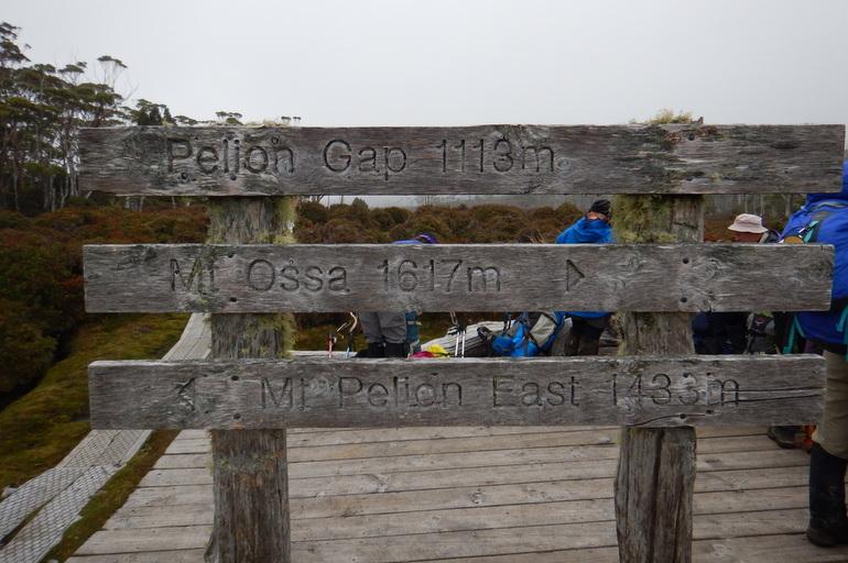 Pelion Gap - Overland Track