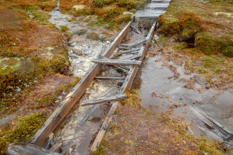 Ruined track, Overland Track