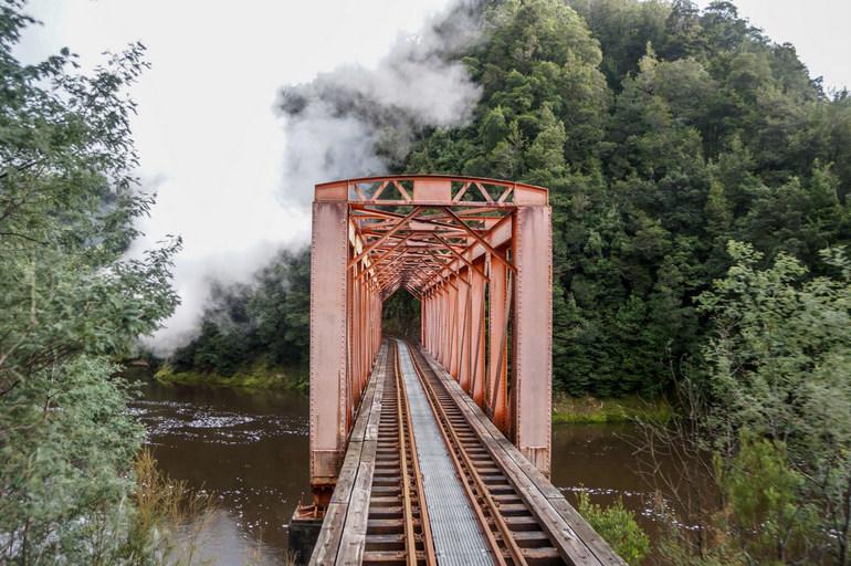 Bridge, West Coast Wilderness Railway