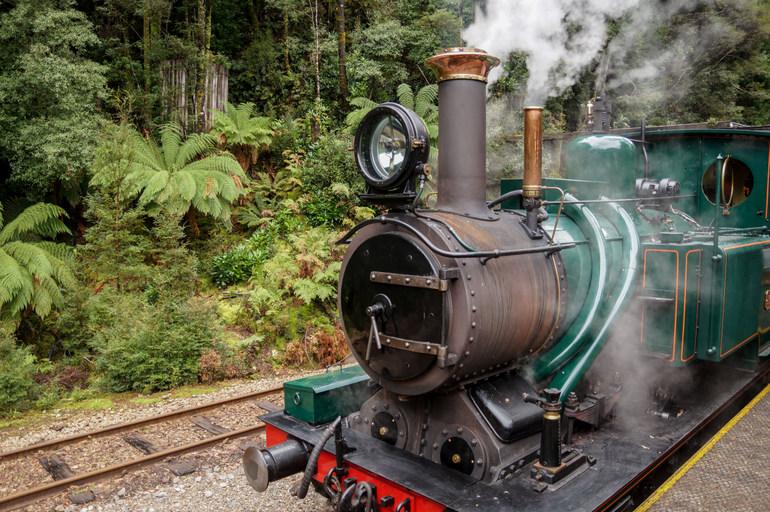 Engine, West Coast Wilderness Railway