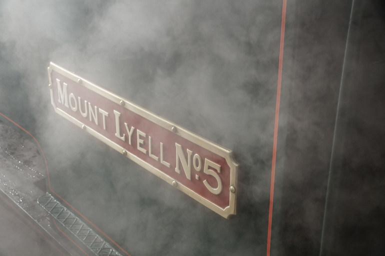 Mount Lyelle No 5 West Coast Wilderness Railway