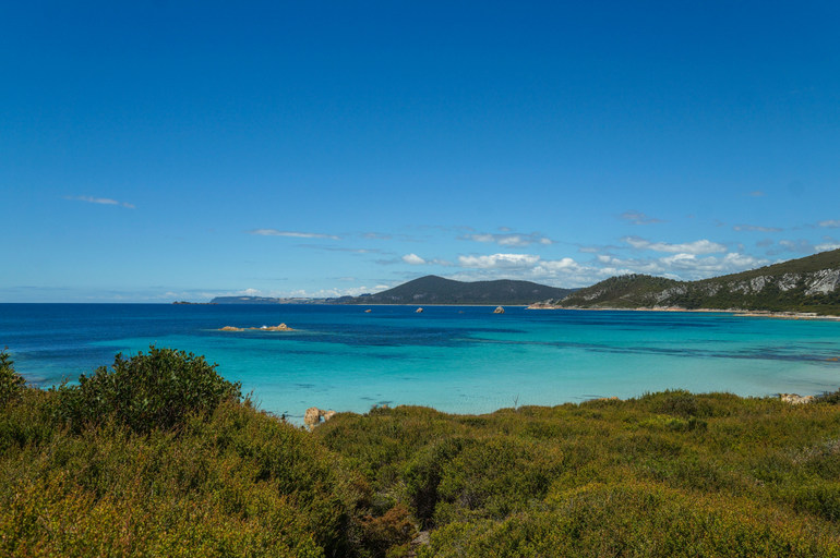 100 things to do in Tasmania - Anniversary Bay