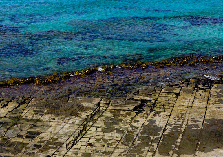 100 things to do in Tasmania - Tessalated Pavement