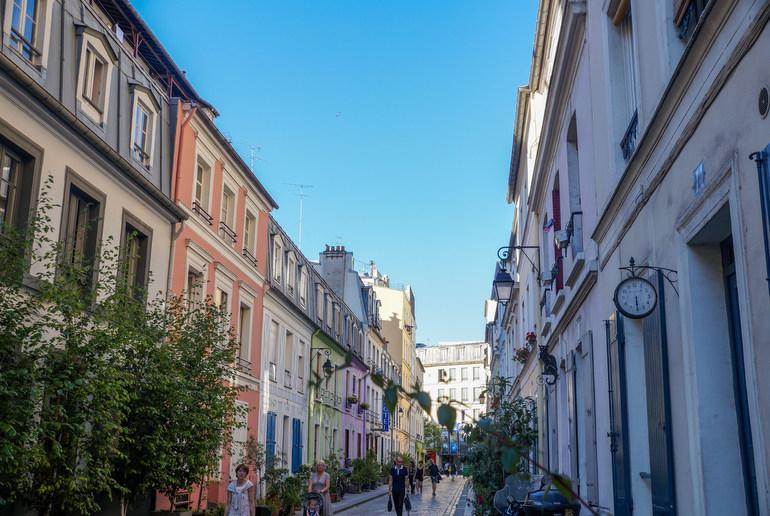 Rue Cremieux clock