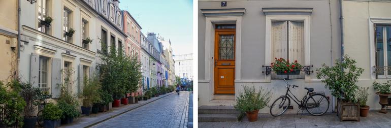 Rue Cremieux streetscape