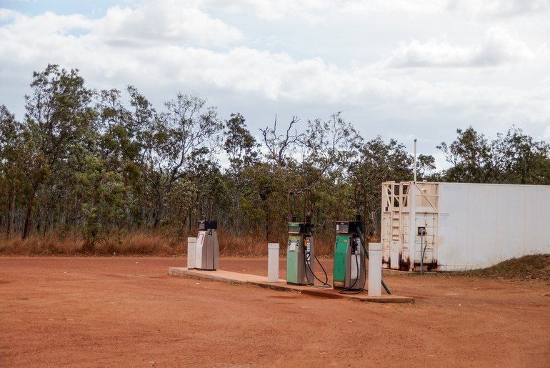 Cape York Peninsula - Fuel Bramwell Junction