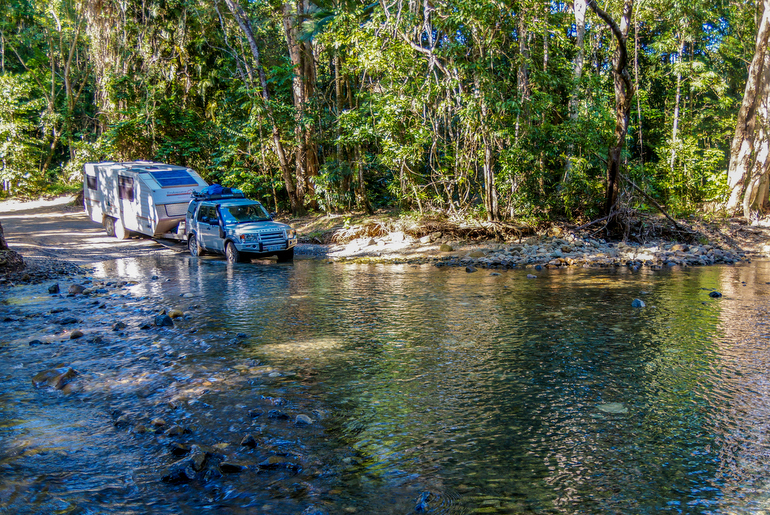 Cape York Peninsula - River crossing
