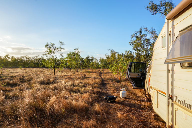 Cape York - camping