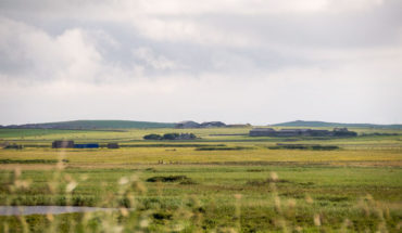 Orkney Islands farmland